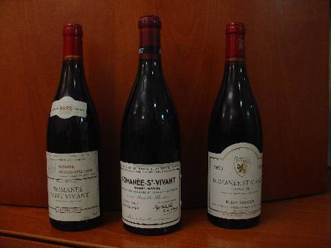 Three 1993 Romanee St. Vivant